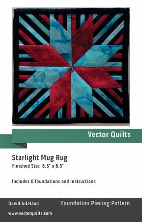 Starlight Mug Rug 6 pack