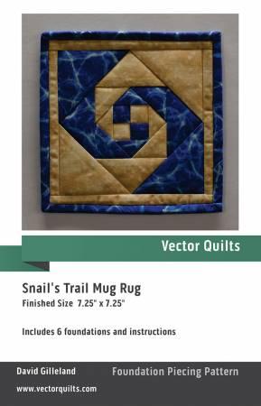 Snails Trail Mug Rug 6 Pack