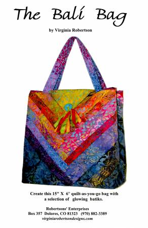 Bali Bag by Virginia Robertson