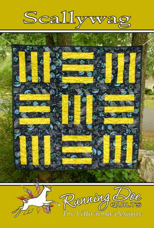 Scallywag Quilt Pattern by Catherine Cureton | Villa Rosa Designs