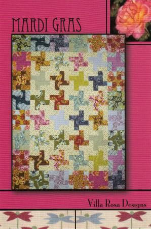 Mardi Gras VRD-863092 Villa Rose Design Pattern
