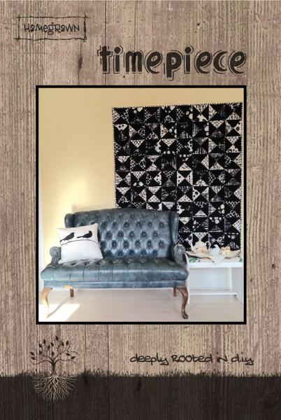 Timepiece Quilt Pattern by Jessica Darling | Villa Rosa Designs