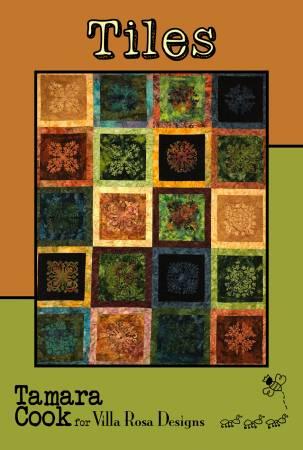 Tiles Quilt Pattern by Tamara Cook | Villa Rosa Designs