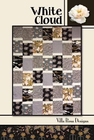 White Cloud Quilt Pattern by Pat Fryer | Villa Rosa Designs