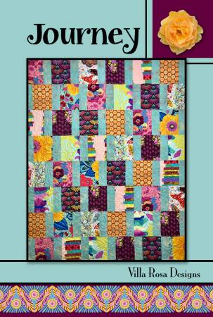 Journey quilt pattern card by Villa Rosa