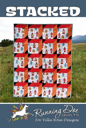 Quilt Pattern - Stacked - 44x55