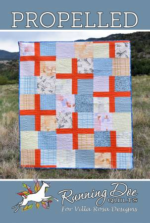 Quilt Pattern - Propelled 63 x 74