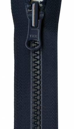 Vislon Reversible Separating Zipper 24in Navy