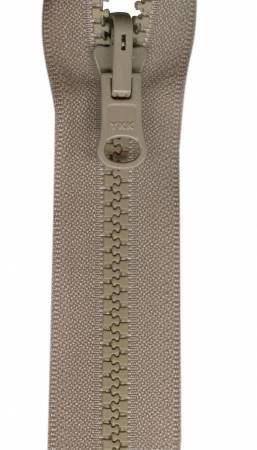 Reversible Separating Zipper 30in Beige