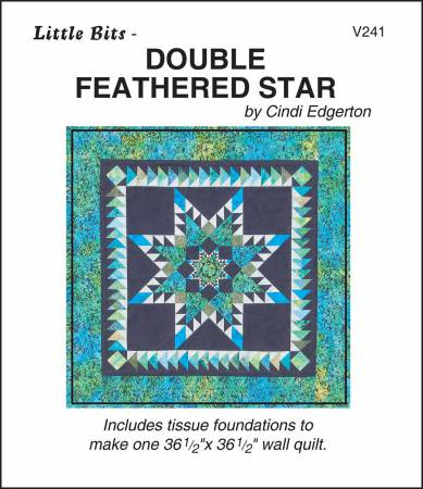 Little Bits Double Feathered Star