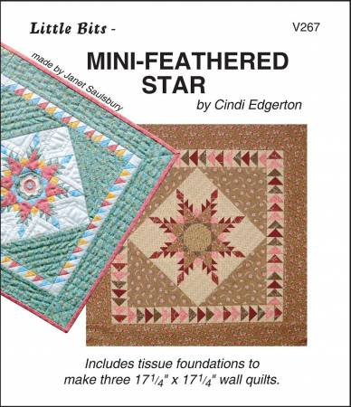 Little Bits Mini Feathered Star