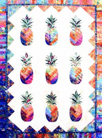Sunshine Pineapple Pattern