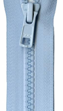 Mini Vislon 10in Baby Blue Separating Zipper
