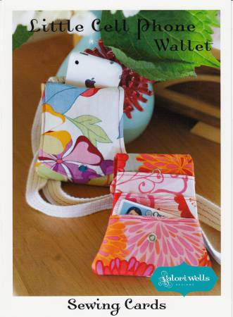 Sewing Card - Little Cell Phone Wallet!