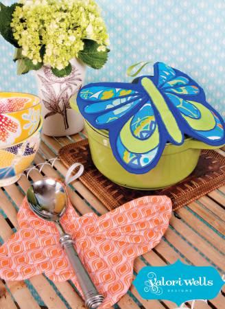 Sewing Card - Flutterby Potholder