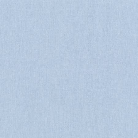 Light Blue Worker Chambray Cotton/Polyester blend