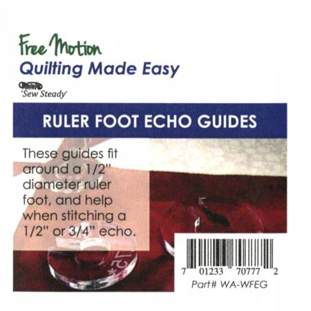 Westalee Ruler Foot Echo Guide 3 Piece Set