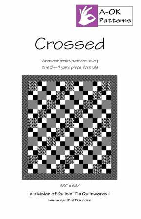 Crossed A OK 5 Yard Pattern
