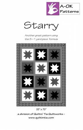 Starry A OK 5 Yard Pattern
