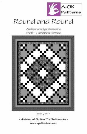 Round and Round 5 Yard Quilt Pattern