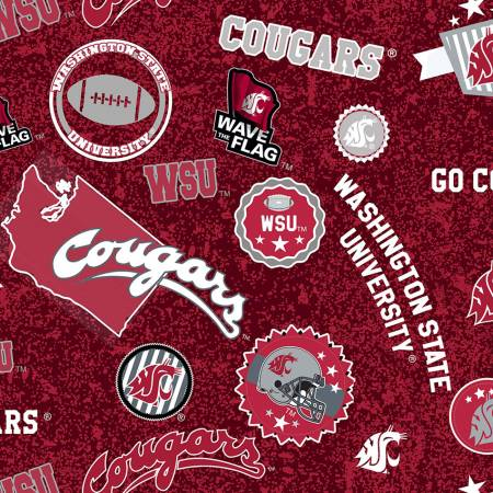 NCAA-Washington State Cougars Home State Cotton