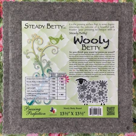 Wooly Betty (13.5in x 13.5in)