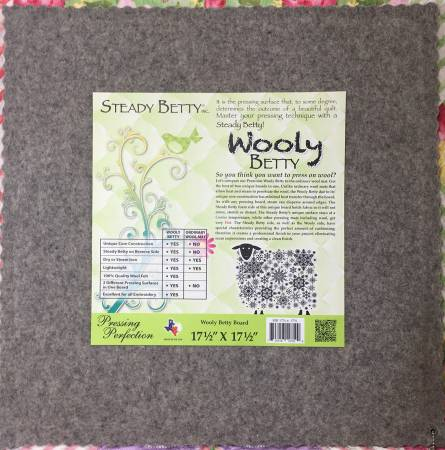 Wooly Betty (17.5in x 17.5in)