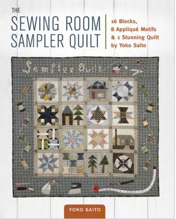 Sewing Room Sampler Quilt - Softcover