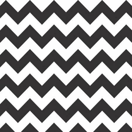 2373 Wideback Medium Chevron Black