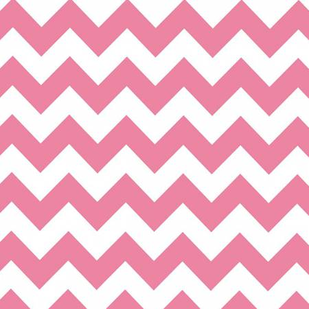 Riley Blake - Wideback 107/108 Inch Medium Chevron Hot Pink