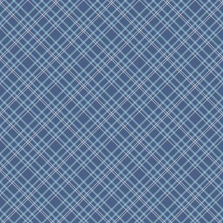 Backings Plaid Blue 107/108in Wide