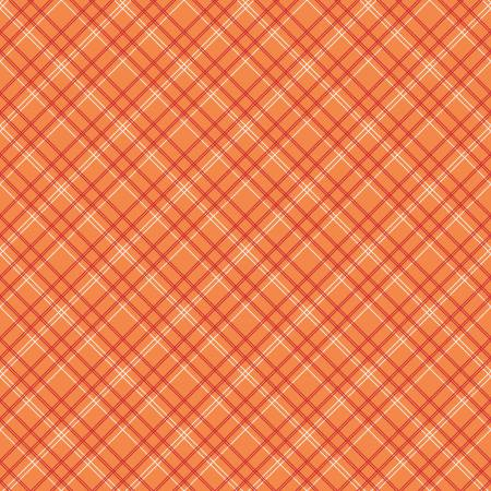 Item#12014.E - Bee Backings Plaid Orange 107/108in Wide - Riley Blake - Lori Holt - Bolt# 12014.E