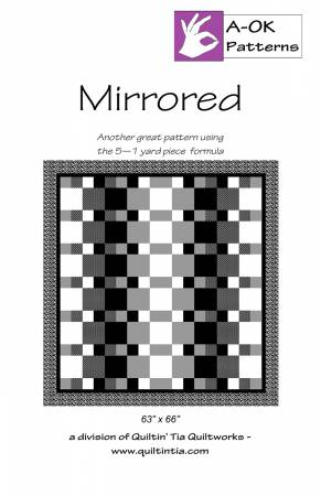 Mirrored quilt pattern by A-OK Patterns