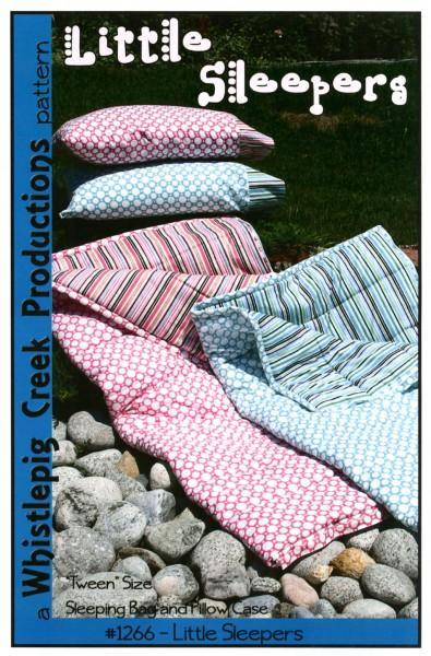 Little Sleepers Sleeping Bag and Pillowcase Pattern