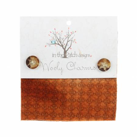Wooly Charms 5in x 5in Burnt Orange 5ct