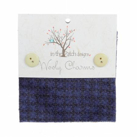 Wooly Charms 5in x 5in Twilight 5ct