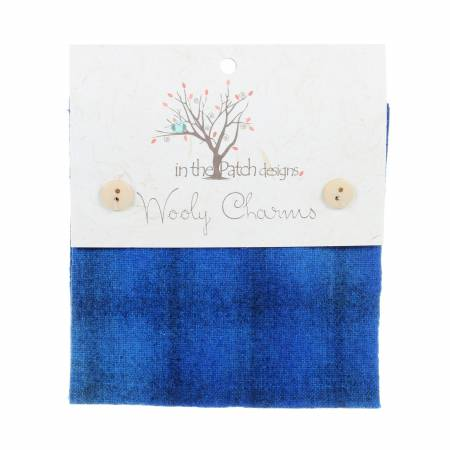 Wooly Charms 5in x 5in Wild BlueYonder 5ct