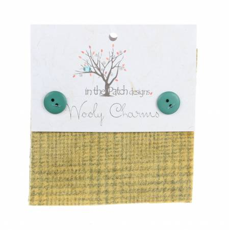 Wooly Charms 5in X 5in Honey 5ct