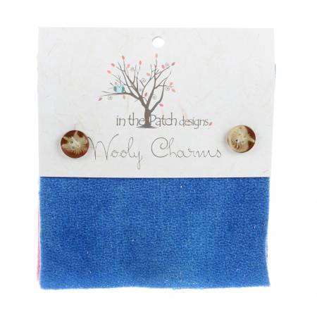 Wooly Charms 5in x 5in Bright 5ct
