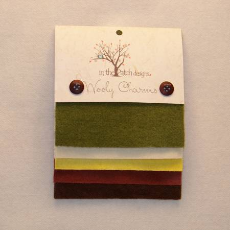 Wooly Charms - Butternut House (5ct) (5in x 5in)