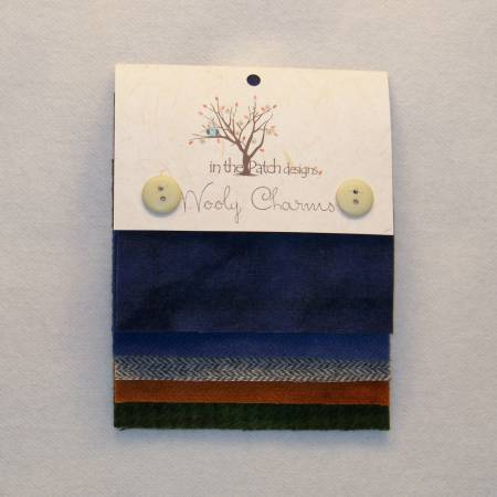 Wooly Charms Midnight Chillin 5ct 5in x 5in