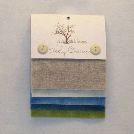Wooly Charms Seaside 5ct 5in x 5in