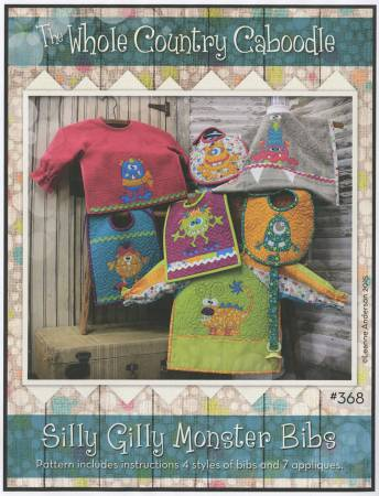 Silly Gilly Monster Bibs