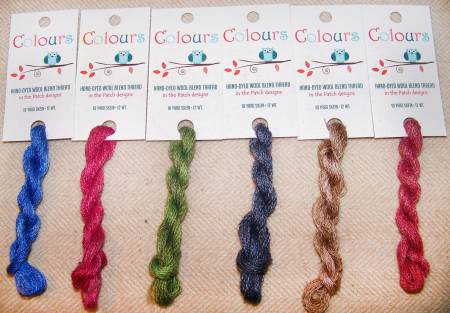 Colours Wool Thread  12wt 10yds