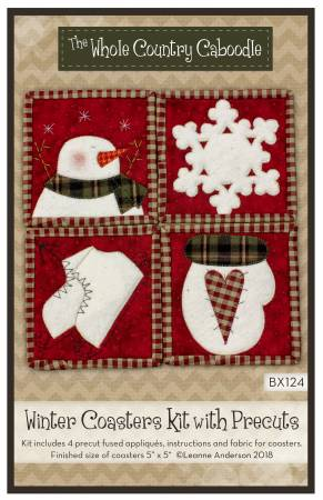 Winter Coaster Kit with Precuts