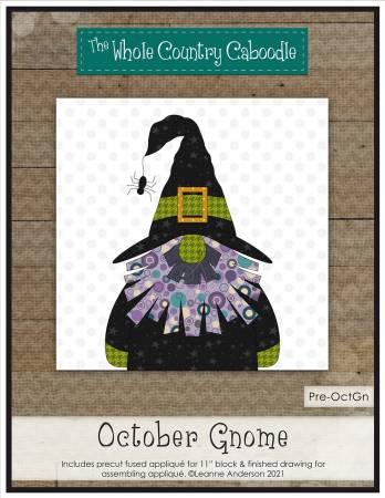 October Gnome Precut Fused Applique Pack