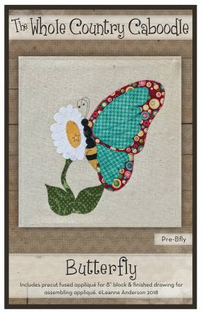 Butterfly Precut Fused Applique Pack