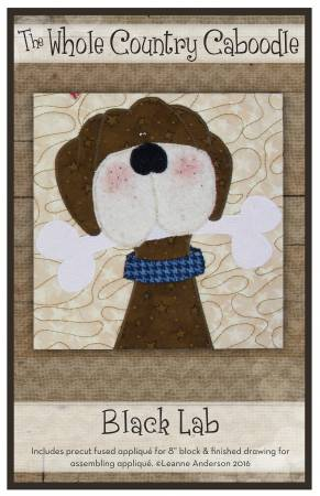 Black Lab Precut Fused Applique Pack