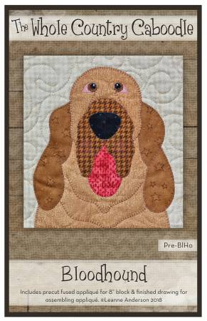 Bloodhound Precut Fused Applique Pack
