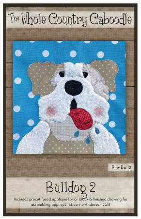 Bulldog 2 Precut Fused Applique Pack